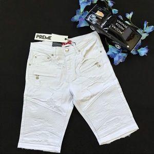 Preme NWT Distressed Shorts for Men Size W30